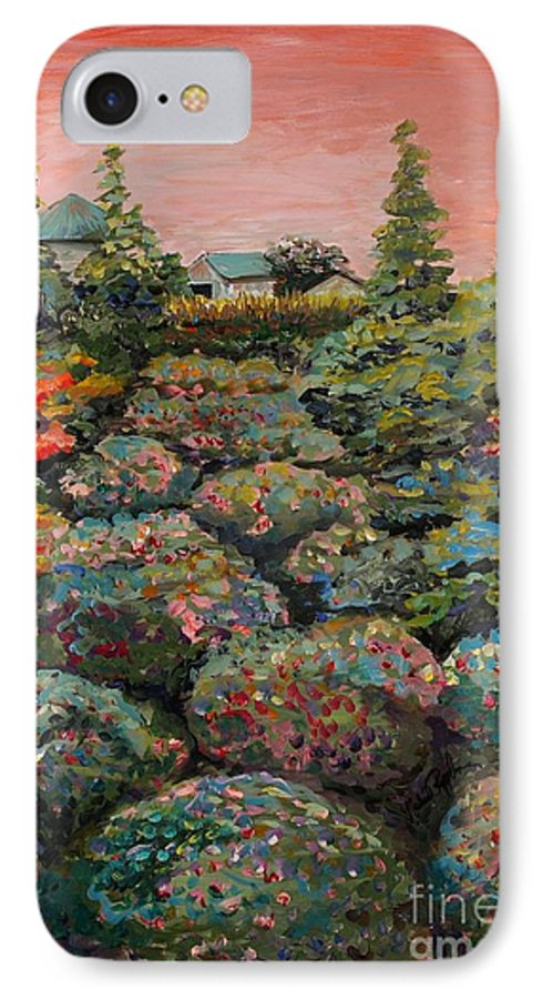 Minnesota IPhone 7 Case featuring the painting Minnesota Memories by Nadine Rippelmeyer