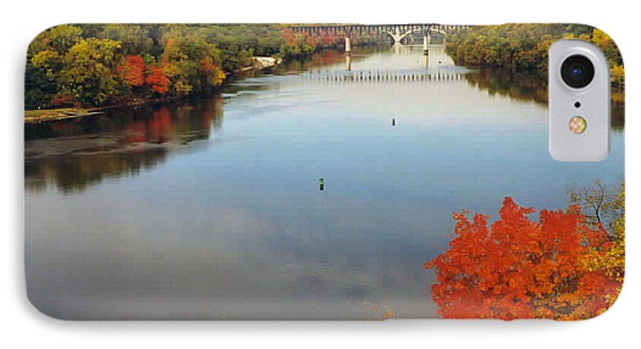 Mississippi IPhone 7 Case featuring the photograph Mississippi River by Kathy Schumann