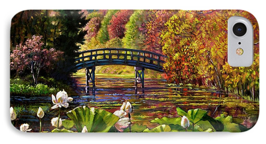 Landscape IPhone 7 Case featuring the painting Missouri Memories by John Lautermilch