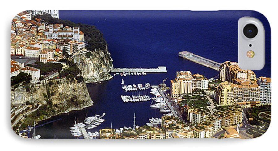 Rich IPhone 7 Case featuring the photograph Monaco On The Mediterranean by Carl Purcell
