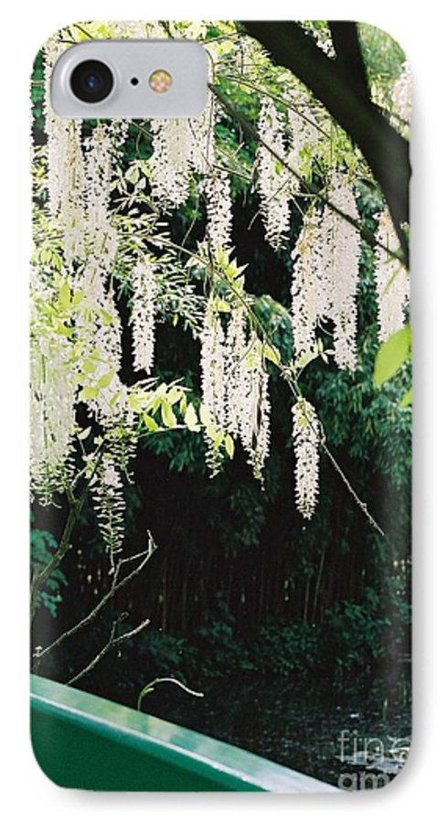 Monet IPhone 7 Case featuring the photograph Monet's Garden Delights by Nadine Rippelmeyer