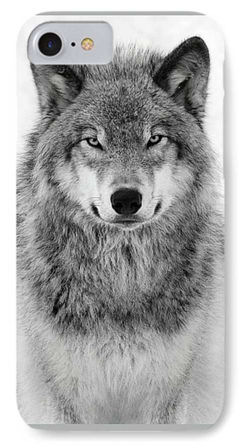 separation shoes ea3ca 204d6 Monotone Timber Wolf IPhone 7 Case