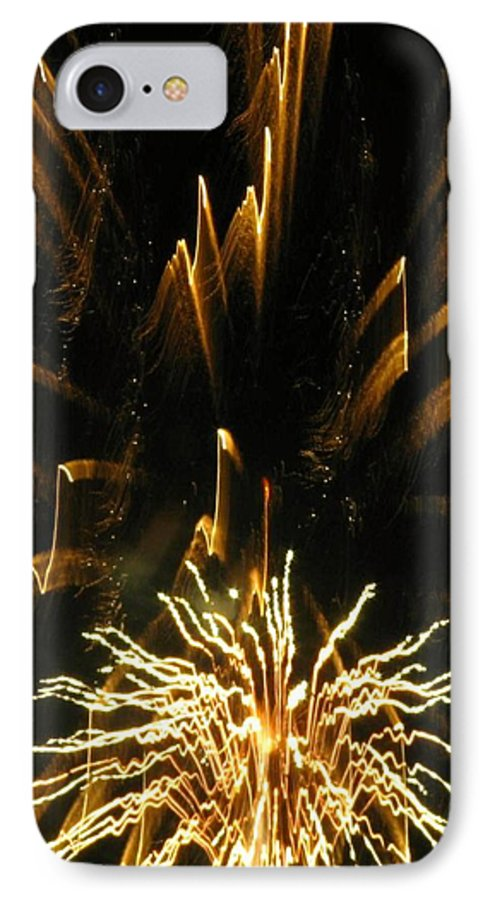 Fireworks IPhone 7 Case featuring the photograph Music To My Eyes by Rhonda Barrett