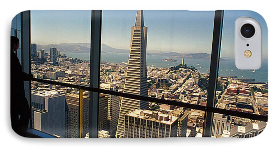 San Francisco IPhone 7 Case featuring the photograph My City On The Bay by Carl Purcell