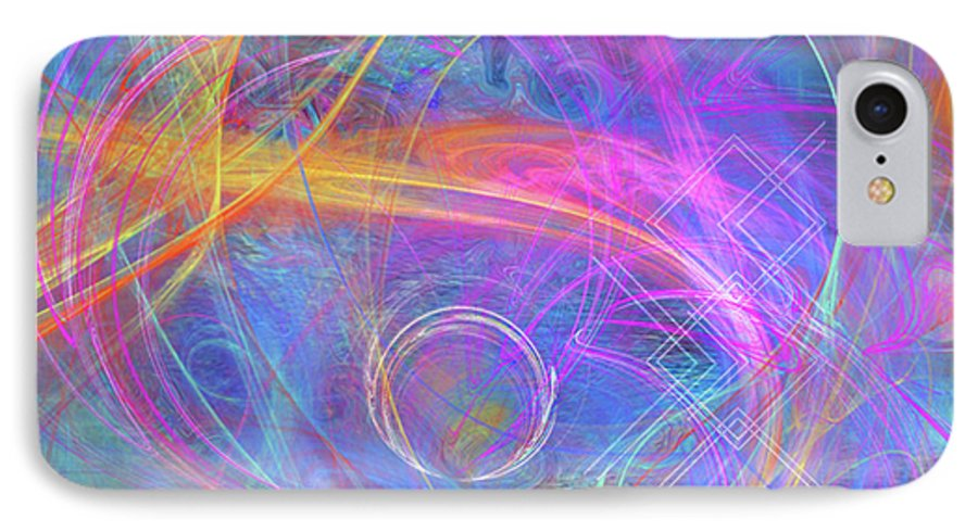 Mystic Beginning IPhone 7 Case featuring the digital art Mystic Beginning by John Beck