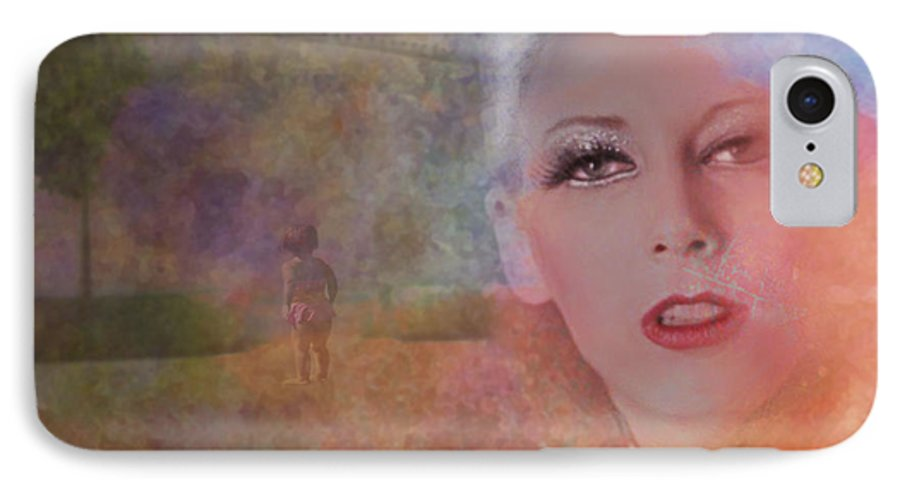 Woman IPhone 7 Case featuring the photograph Mystic Woman by Jeff Burgess