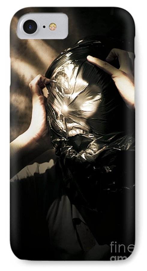 Adult IPhone 7 Case featuring the photograph Nightmare Screams by Jorgo Photography - Wall Art Gallery