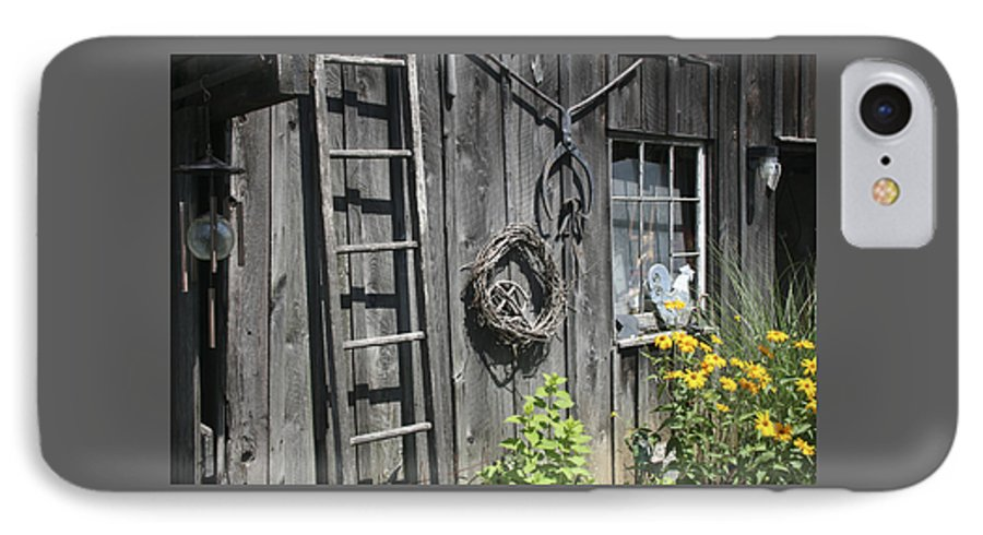 Barn IPhone 7 Case featuring the photograph Old Barn II by Margie Wildblood