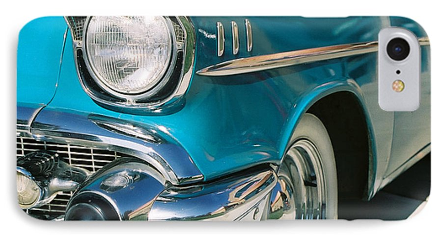Chevy IPhone 7 Case featuring the photograph Old Chevy by Steve Karol