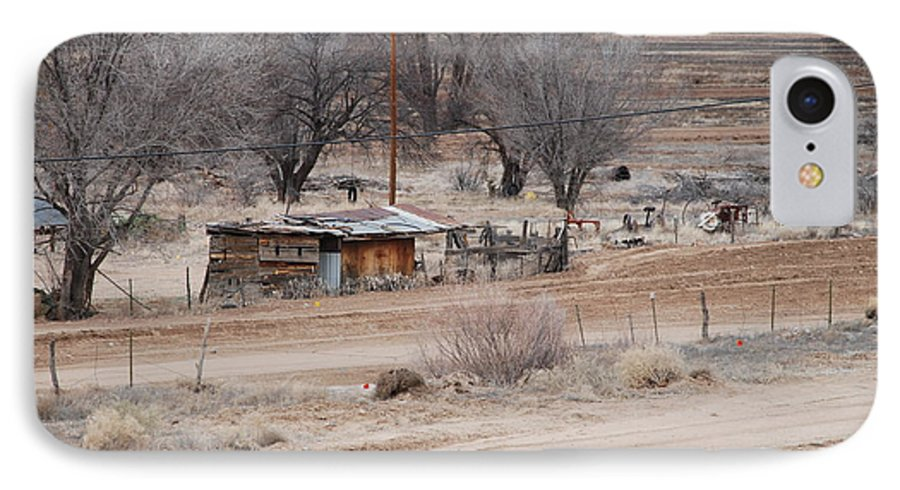 House IPhone 7 Case featuring the photograph Old Ranch House by Rob Hans