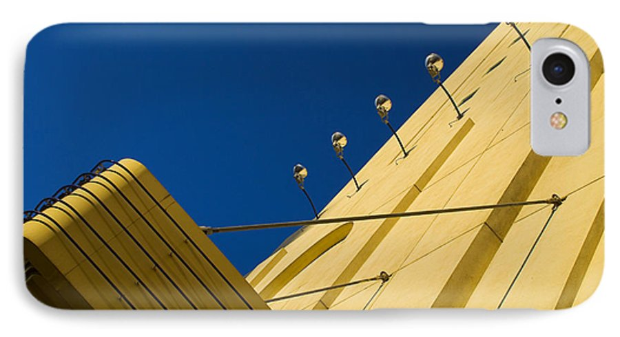 Electric IPhone 7 Case featuring the photograph Old School Vegas by Skip Hunt
