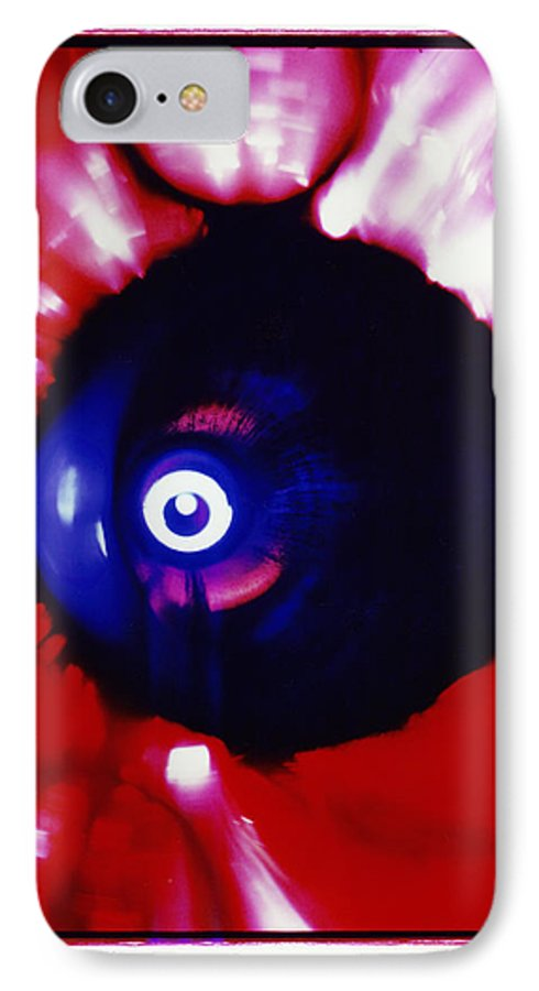Abstract IPhone 7 Case featuring the photograph Oracle by David Rivas