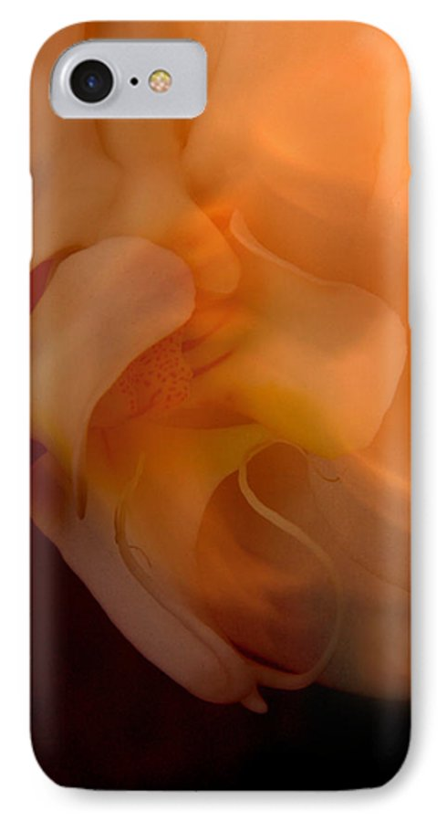 Orchid IPhone 7 Case featuring the photograph Orchid Detail by Michael Ziegler