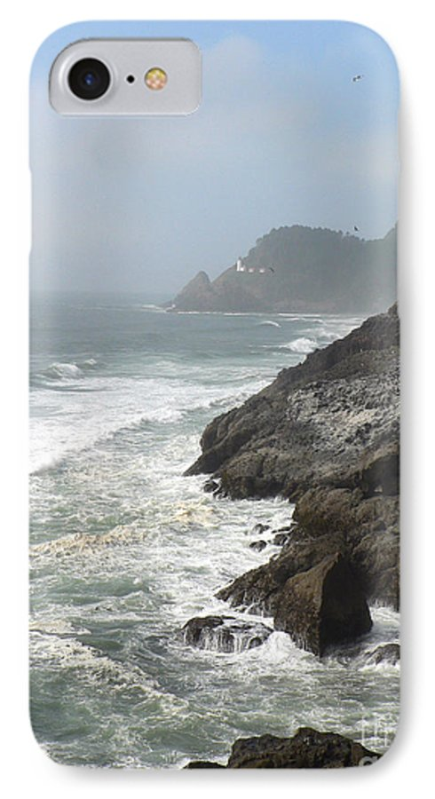 Pacific IPhone 7 Case featuring the photograph Oregon Coast by Larry Keahey