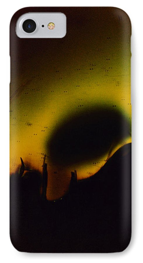 Abstract IPhone 7 Case featuring the photograph Ormand by David Rivas