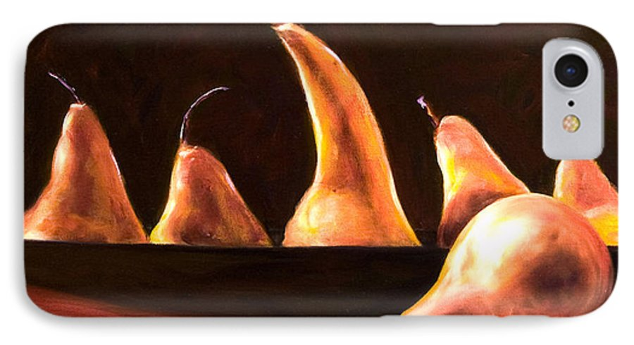 Still Life IPhone 7 Case featuring the painting Overboard by Shannon Grissom