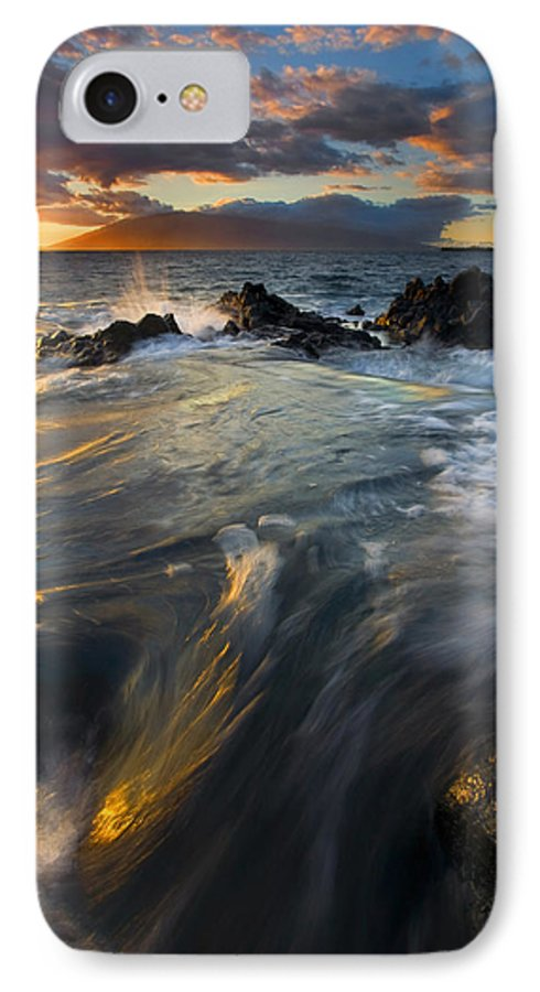 Cauldron IPhone 7 Case featuring the photograph Overflow by Mike Dawson