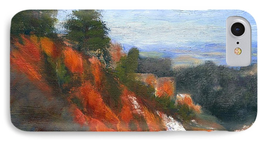 Southwest IPhone 7 Case featuring the painting Overlook by Gail Kirtz