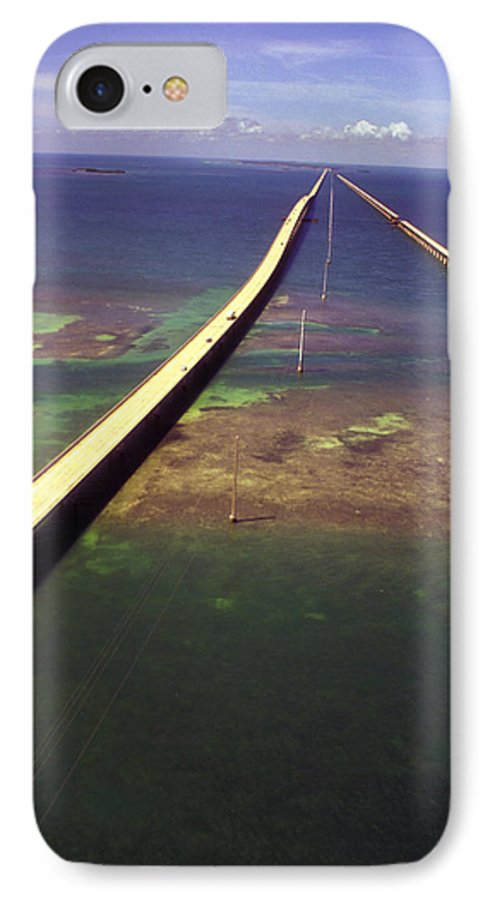 U.s. 1 IPhone 7 Case featuring the photograph Overseas Highway by Carl Purcell