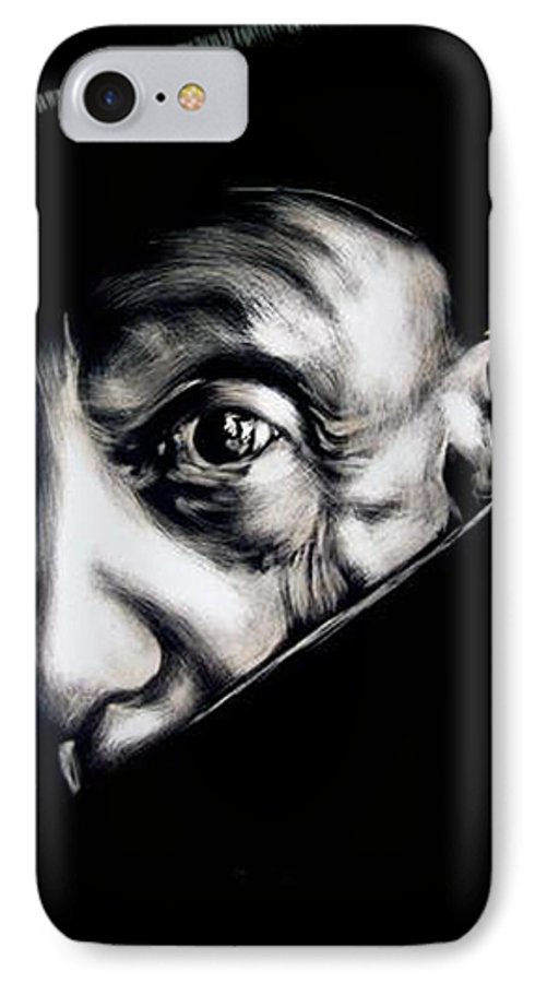 IPhone 7 Case featuring the mixed media Pablo by Chester Elmore