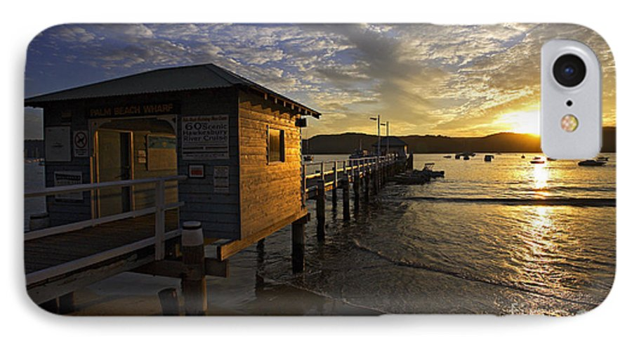 Palm Beach Sydney Australia Sunset Water Pittwater IPhone 7 Case featuring the photograph Palm Beach Sunset by Avalon Fine Art Photography