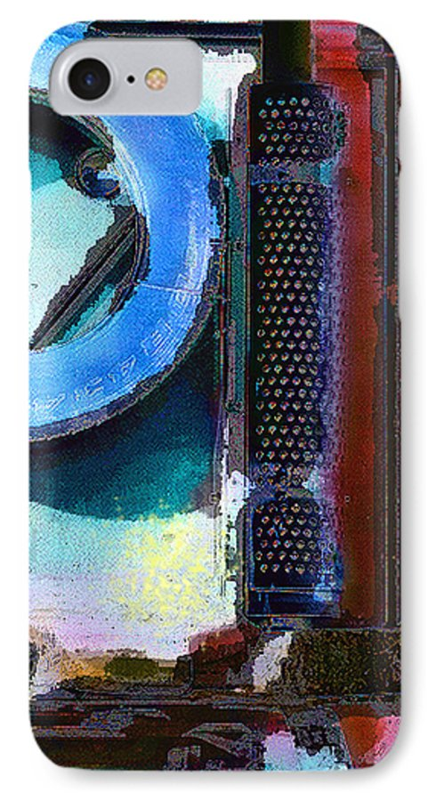 Abstract IPhone 7 Case featuring the photograph panel one from Centrifuge by Steve Karol