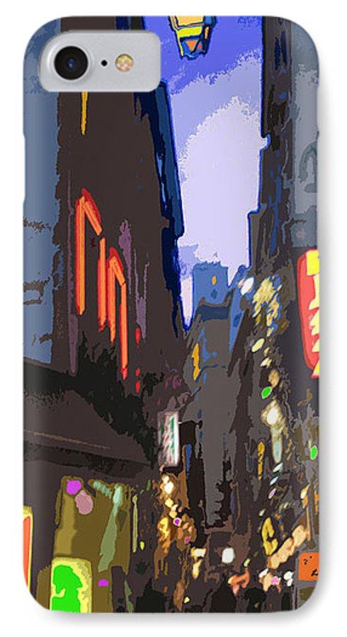 Paris IPhone 7 Case featuring the photograph Paris Quartier Latin 01 by Yuriy Shevchuk