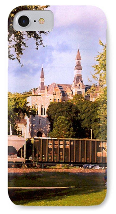Landscape IPhone 7 Case featuring the photograph Park University by Steve Karol