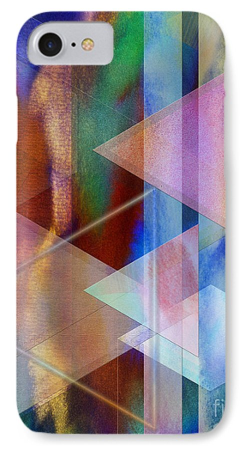 Pastoral Midnight IPhone 7 Case featuring the digital art Pastoral Midnight by John Beck