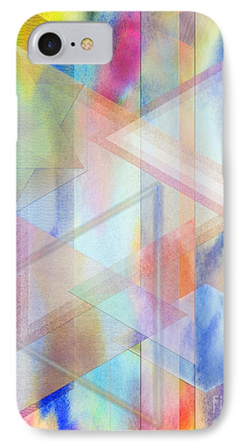 Pastoral Moment IPhone 7 Case featuring the digital art Pastoral Moment by John Beck