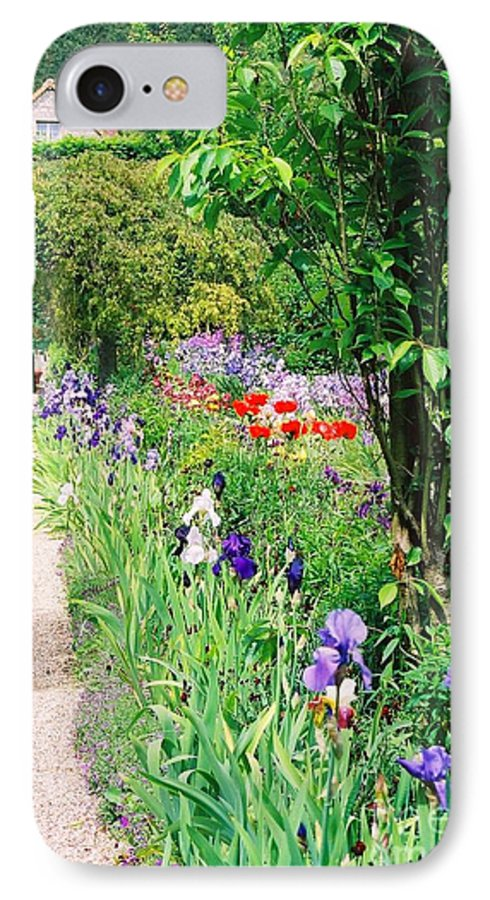 Claude Monet IPhone 7 Case featuring the photograph Path To Monet's House by Nadine Rippelmeyer