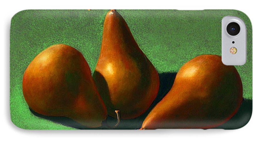 Still Life IPhone 7 Case featuring the painting Pears by Frank Wilson