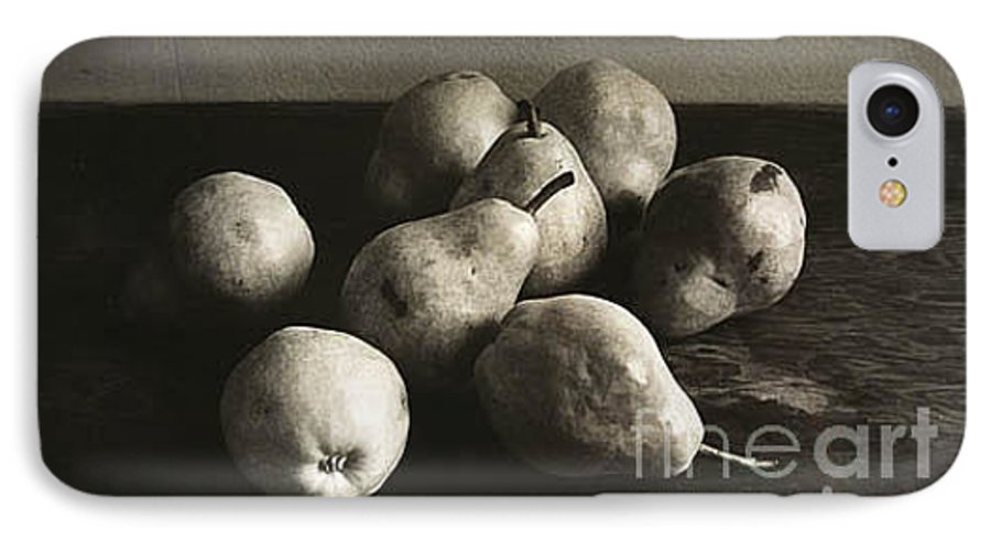 Pears IPhone 7 Case featuring the photograph Pears by Michael Ziegler