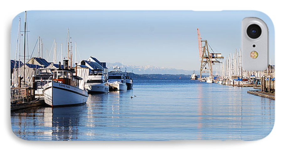 Olympia IPhone 7 Case featuring the photograph Percival Landing by Larry Keahey
