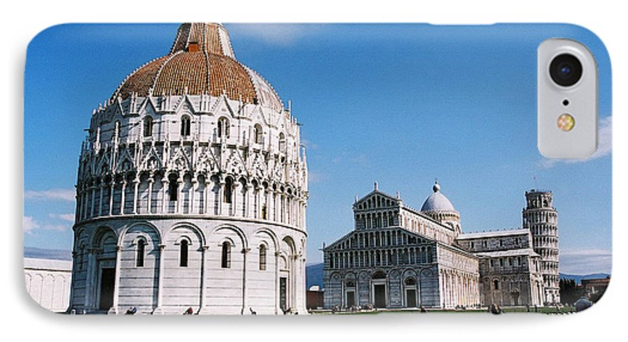 Italy IPhone 7 Case featuring the photograph Pisa by Kathy Schumann