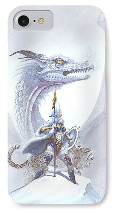 Dragon IPhone 7 Case featuring the painting Polar Princess by Stanley Morrison