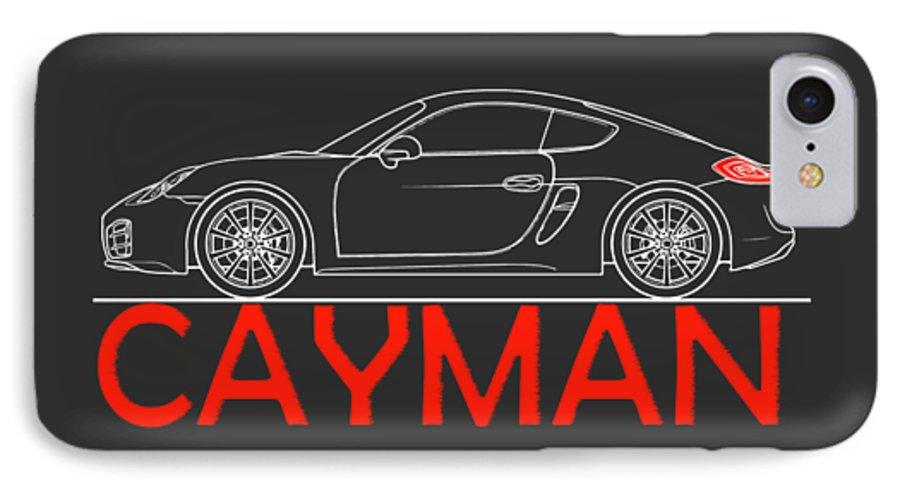 hot sale online edb6a cc017 Porsche Cayman Phone Case IPhone 7 Case