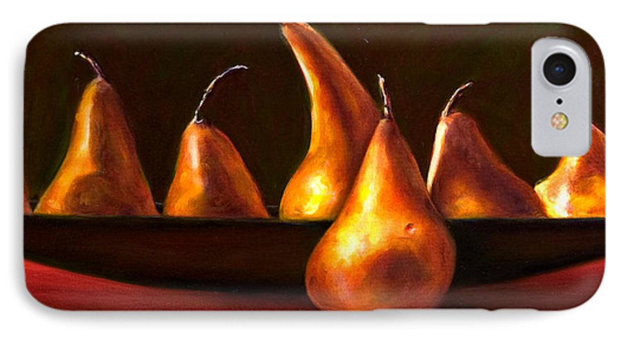 Still Life IPhone 7 Case featuring the painting Port Au Pear by Shannon Grissom