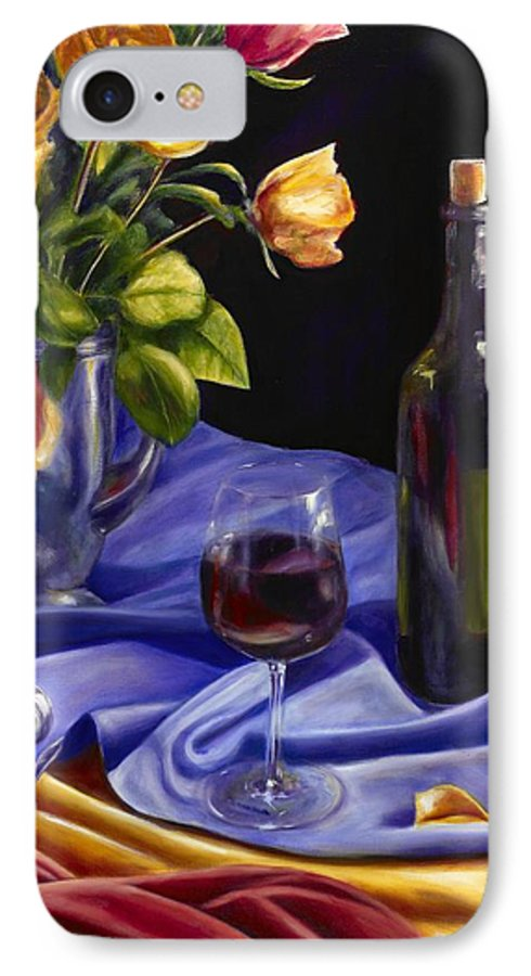 Still Life IPhone 7 Case featuring the painting Private Label by Shannon Grissom