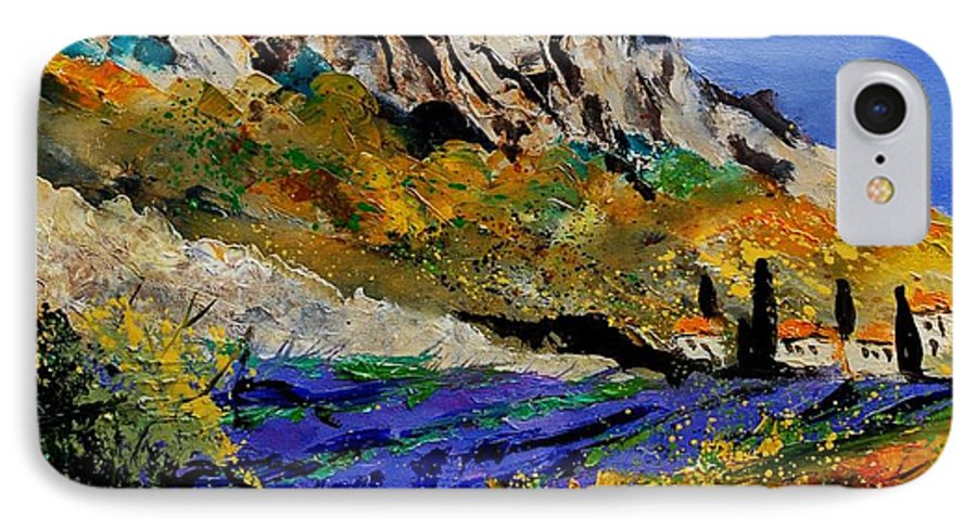 Flowers IPhone 7 Case featuring the painting Provence 560908 by Pol Ledent