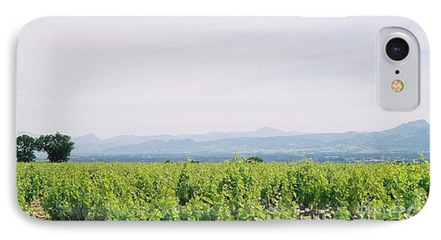 France IPhone 7 Case featuring the photograph Provence Spring Vineyard by Nadine Rippelmeyer
