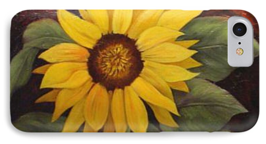 Still Life IPhone 7 Case featuring the painting Pure Sunshine Sold by Susan Dehlinger