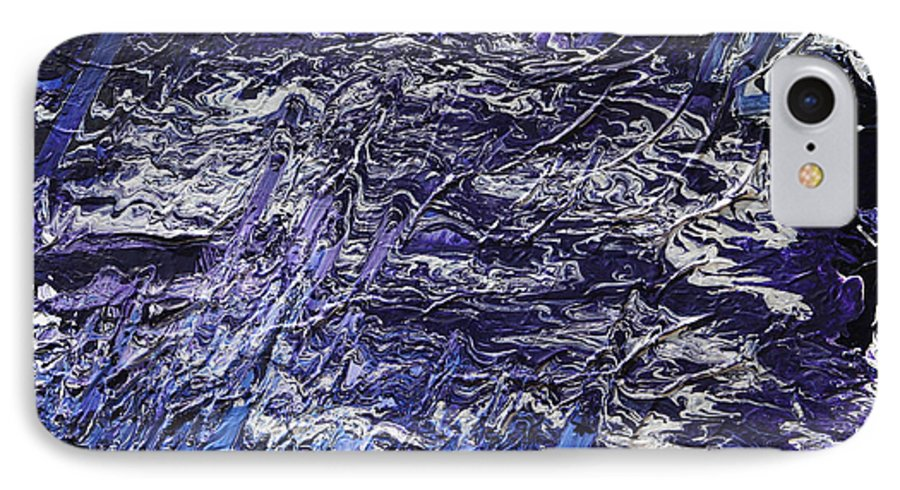 Fusionart IPhone 7 Case featuring the painting Rapid by Ralph White