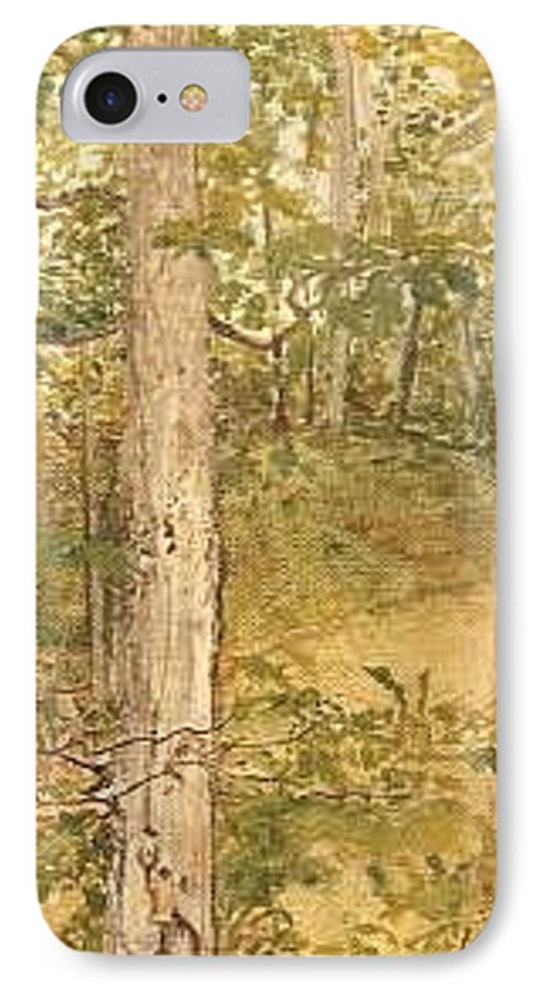 Trees IPhone Case featuring the painting Raystown Lake by Leah Tomaino