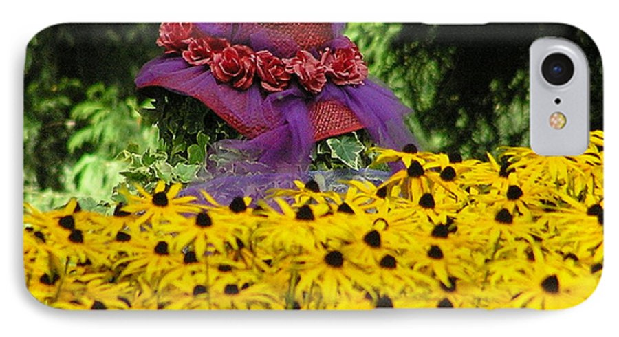 Red Hat IPhone 7 Case featuring the photograph Red Hat Parade by Louise Magno