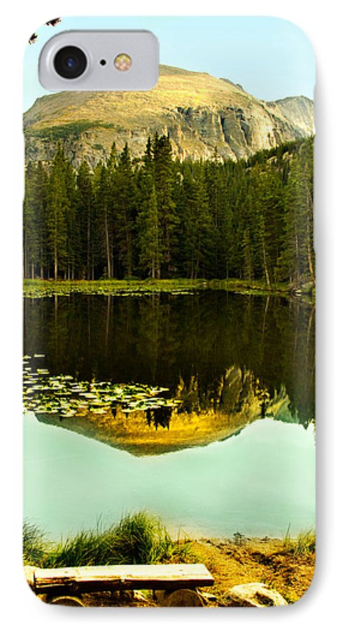 Reflection IPhone 7 Case featuring the photograph Reflection by Marilyn Hunt