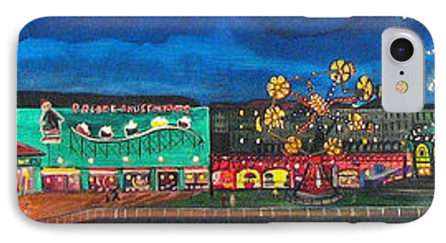 Asbury Art IPhone 7 Case featuring the painting Remember When by Patricia Arroyo