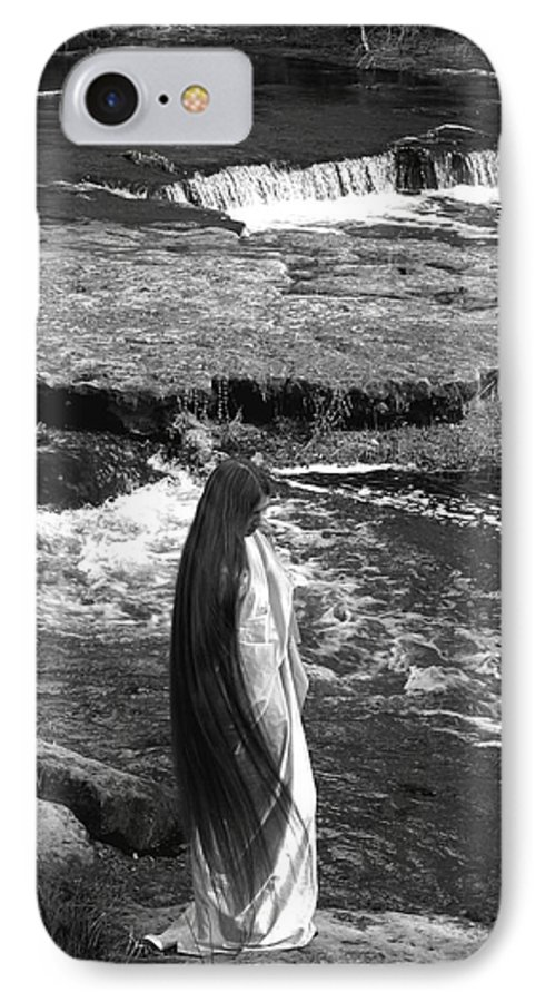 Woman IPhone 7 Case featuring the photograph Return To The Falls by Debbie May