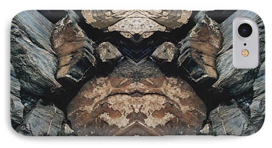 Rocks IPhone 7 Case featuring the photograph Rock Gods Rock Matron by Nancy Griswold