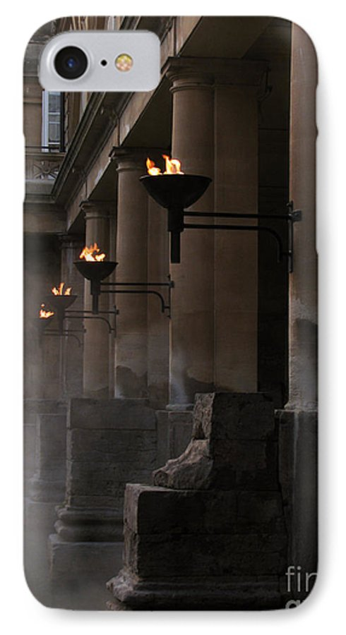 Bath IPhone 7 Case featuring the photograph Roman Baths by Amanda Barcon
